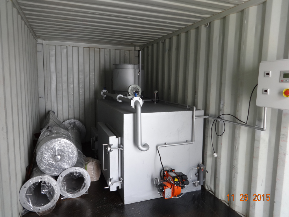 Supply, Installation and Commissioning of DIESEL FIRED INCINERATORS