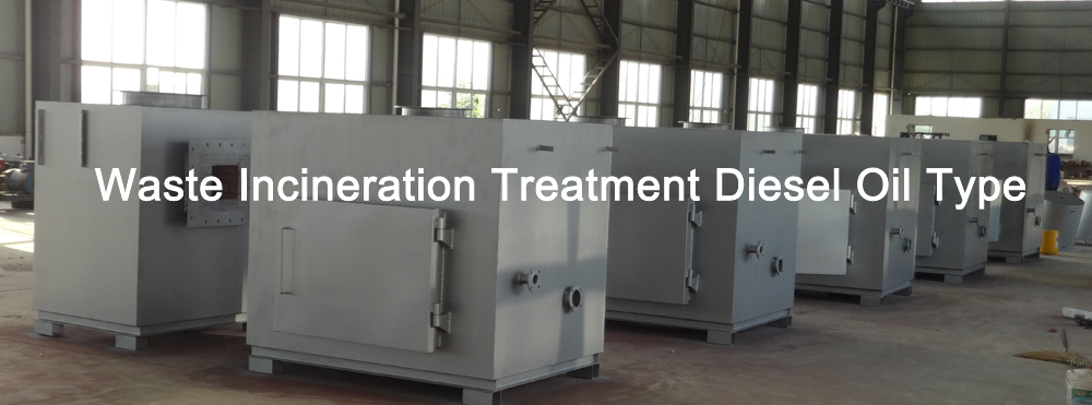 Waste Incineration Treatment Diesel Oil type Model TS150