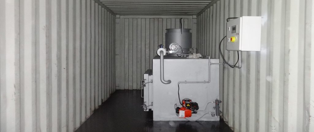 Containerized Mobile Type Animal Waste Incinerator Model CA30